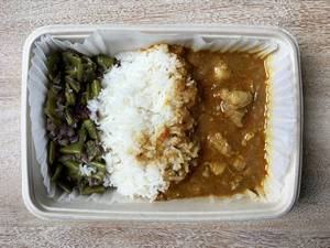 Vindaloo mit Jasmin Reis und Chili-Kokos Bohnen