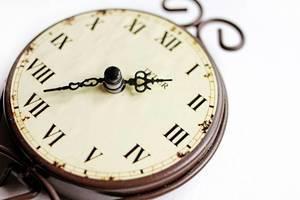 Vintage Taschenuhr (engl. Vintage Clock)