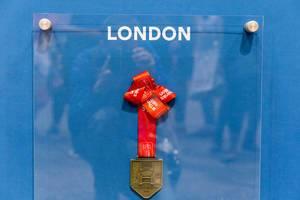 Virgin Money London Marathon 2019 finisher medal