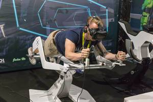 Virtual Reality Fitness Experience von ICAROS