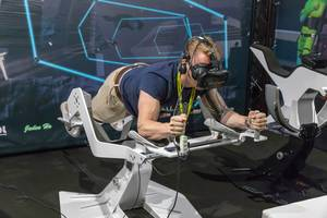 Virtual Reality flying and driving experiences by ICAROS