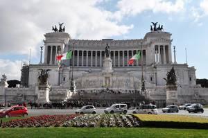 Vittoriano, Nationaldenkmal für Viktor Emanuel II