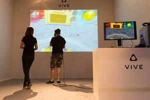 Vive VR Headset demonstration