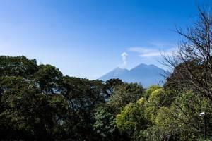 Volcan de Fuego and Volcan Acatenango, Guatemala