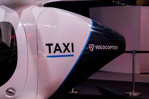 Volocopter Aerial Taxi at Digital X in Cologne