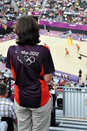 Volunteer während Olympia 2012