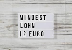 Von 9 auf 12 Euro:Auch Arbeitsminister Heil fordert zwölf Euro Mindestlohn