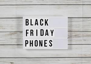 """Vorbereitung für """"Black Friday"""":Die fünf besten Smartphone-Schnäppchen"""