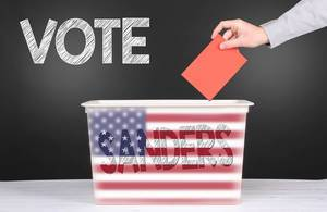 Vote for Sanders concept