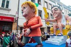 Wagen: Angela Merkel und Alexis Tsipras