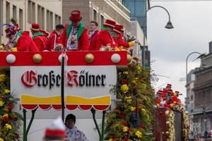 Wagen der Große Kölner Karnevalsgesellschaft 1882 - Kölner Karneval 2018