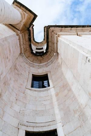 Wall of Panteão Nacional in details  Flip 2019