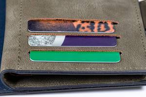 Wallet with credit cards, close up (Flip 2020)