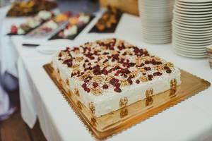 Walnut Amd Cranberry Cheese Cake Wedding Day (Flip 2019)