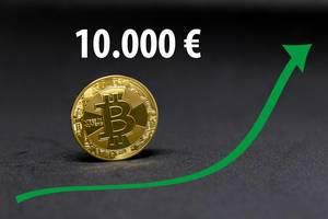 Wann erreicht der Bitcoin 10.000 Euro?