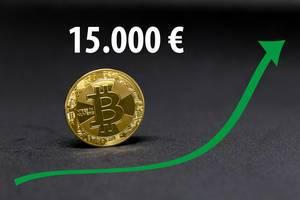 Wann wird der Bitcoin 15.000 Euro wert sein?
