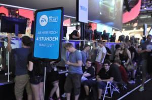 Warteschlange bei EA