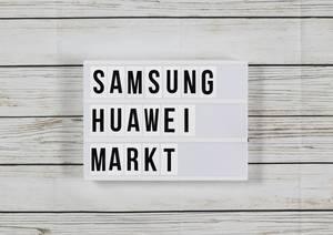 Warum Samsung Konkurrent Huawei den Handy-Markt freiwillig überlässt