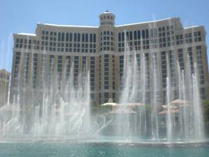 Water show in front of Bellagio, Las Vegas