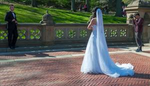 Wedding Shooting in Central Park New York