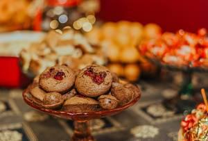 Weihnachts-Muffins mit Schokolade