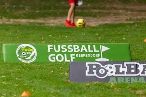 Werbung für Fußballgolf Berrendorf