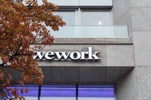 Wework Coworking Büro Außenfassade