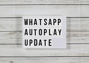WhatsApp führt Autoplay-Funktion für Sprachnachrichten ein