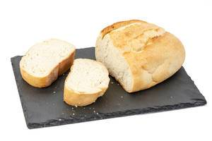 White Bread slices on the tray