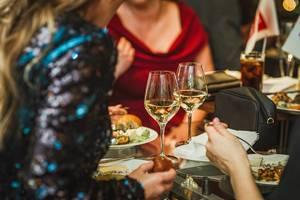 White Wine Drinking Evening With Girls (Flip 2019)