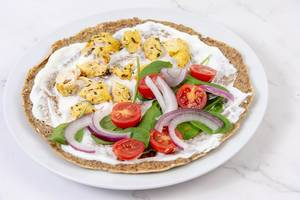 Whole Wheat Flour Tortillas with Chicken and Vegetables (Flip 2019)