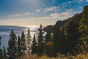 Wild Landscape Of Taormina Coastline (Flip 2019)