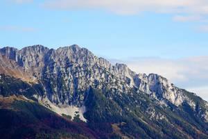 Wilder Kaiser mountain peaks, Tirol, Austria (Flip 2019)