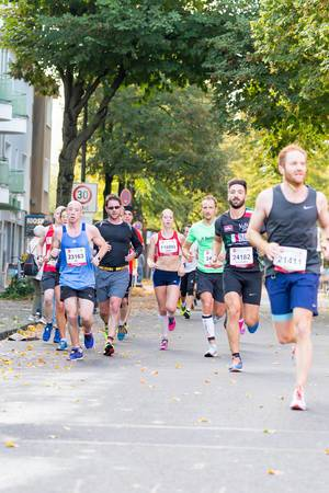 Williamson Ed, Joosten Judith, Silveri Alessandro, Drabiniok Tobias - Köln Marathon 2017