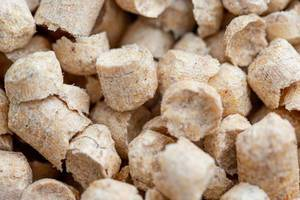 Wood pellets - filler for toilet of Pets