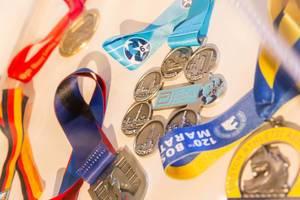 World Marathon Series medails