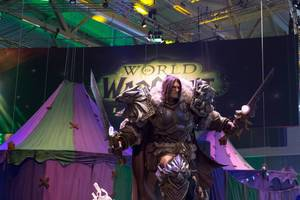 World of Warcraft Skulptur - Gamescom 2017, Köln