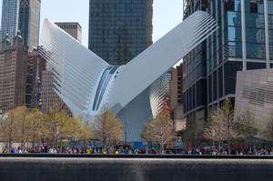 World Trade Center Transportation Hub in New York City, USA