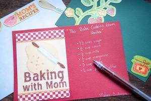 Writting a recipe: Baking with Mom