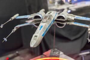 X-Wing Starfighter aus Star Wars. Spielzeug