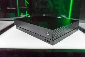 XBOX ONE X (Scorpio) auf der Gamescom 2017