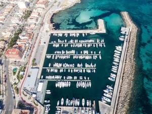 Yacht-Hafen auf Mallorca