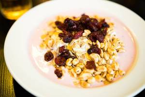 Yogurt and granola breakfast plate (Flip 2019)