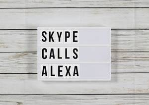 You can now make Skype calls on Amazon Alexa devices