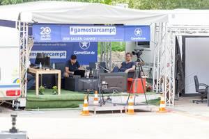 Zelt von GameStar im gamescomCamp - Gamescom 2017, Köln