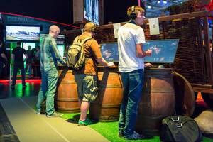 Zocker auf der Gamescom 2017