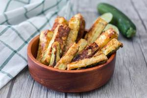 Zucchini Fritters Close-up