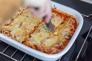 Zucchini-Gratin auf die gesunde Art