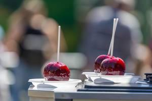 Zuckeräpfel für Kinder