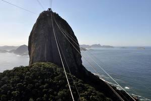 Zuckerhut (Sugarloaf) in Rio de Janeiro, Brasilien
